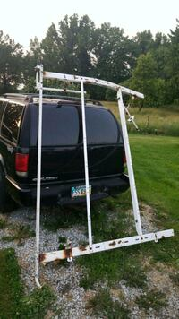 White Ladder rack for van with mounting hardware Atwater, 44201