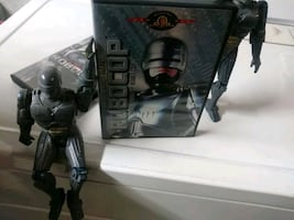 Robocop one with one Robocop Figure