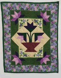 Potted tulips wallhanging Pittsburgh, 15217