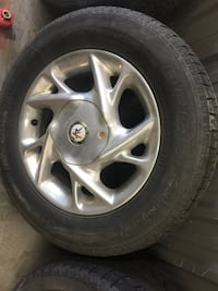4 BF GOODRICH SNOW TIRES WITH RIMS Thorold, L2H