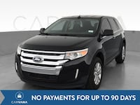 2011 Ford Edge suv Limited Sport Utility 4D Black