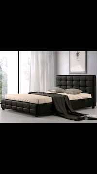 Queen Bed Brand New (Leather) Toronto, M2N 7H6