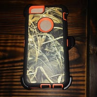 Orange and Camo iphone 6 Case with Holster and Sta North Canton, 44720