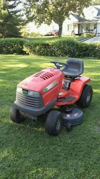 red and black ride-on mower Columbus, 43219