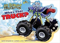LIKE NEW ** RETAILS for $10 ** Who's That Truck? Board Book Hamilton