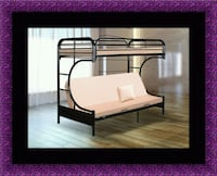 Twin futon bunk bed frame Alexandria, 22306