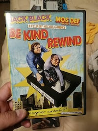 Be Kind Rewind DVD case Valdosta, 31605