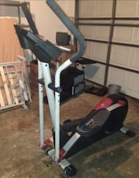 grey white and black elliptical cross trainer Mansfield