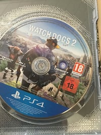 PS4 Watch Dogs 2 spillplaten i csae