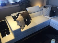 white leather sectional sofa Calgary, T3M 0Y3