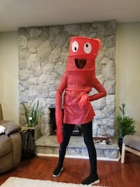 Kid's Halloween costume  Red Wacky Tube  Port Moody, V3H 1M8