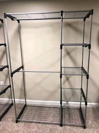 gray metal 3-layer rack Falls Church, 22042