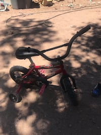 Black and red bmx bike Santa Fe, 87506