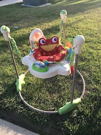 baby's white and green jumperoo Temecula, 92591