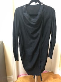 Black Suede Coat Mississauga, L4Z 1B9