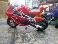49cc Pocket Rocket Red 1162 mi