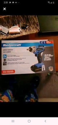 Master craft impact drill brand new inbox Toronto, M9C 2Z3