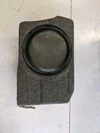 2010-2014 Mustang JL Audio subwoofer stealth box