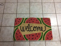 brown, red and green watermelon themed floor mat Vaughan, L4H 3P6