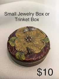 Small Jewelry Box or Trinket Box