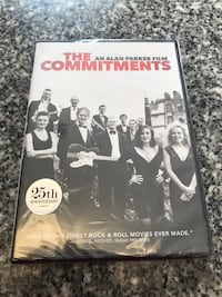 The Commitments movie DVD