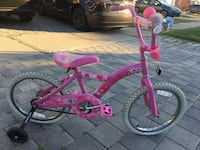 toddler's pink and white bicycle Richmond Hill, L4B 3V9