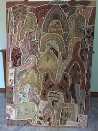 Antique Fabric Wall Hanging