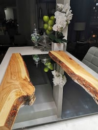 Live edge cherry mirror Toronto, M2M