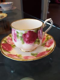 Tea cup and saucer Wayne, 48184