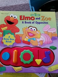 The Sesame Street Elmo and Zoe A Book of Opposites Howell, 48843
