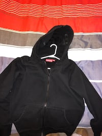 Supreme split hood zip up