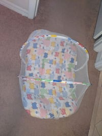 Baby lounger with net