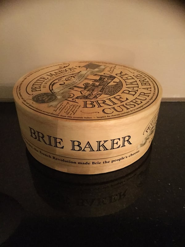 Petite Maison Cream Brie Baker By Wildly Delicious French New 716aadf8-20ce-4753-9255-53639f5ce87d