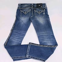 Miss Me Jeans Flap Pockets Bling 28 Ankle Skinny E Keystone Heights, 32656