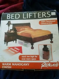 PRE-OWNED MAHOGY WOOD BED LIFTERS Los Angeles, 90018