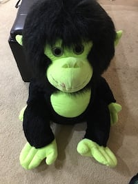 black and green monkey plush toy Lubbock, 79415