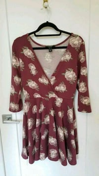 Fit and flare floral dress Montreal, H4G 1H7