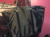 black and gray leather tote bag Watsonville, 95076