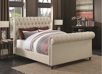 Queen Size Bed Frame NEW Euclid