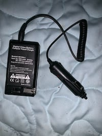 Digital video battery travel charger