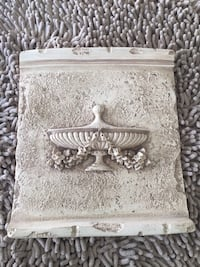 """""""the bombay company""""set basket floral urn plaque wall home decor Aliso Viejo, 92656"""