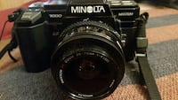 FILM, Minolta Maxxum 7000 SLR camera with cover