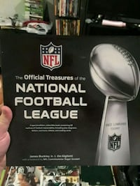Official treasury of the National Football League 207 mi