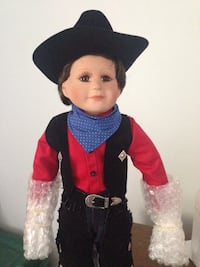 Collectible Doll - cowboy Austin 1995 Hamilton, L9A 4W9