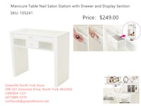 Greenlife NorthYork Portable & station Manicure Table From $89 Toronto