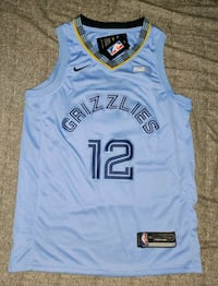 Memphis Grizzlies Ja Morant NBA Jersey Chevy Chase, 20815