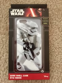 NEW! Disney's Star Wars Storm Trooper Hard Shell Case for IPhone 6 or  Dover, 19901