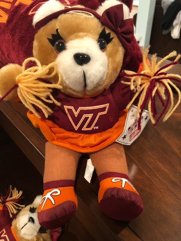 Virginia Tech Cheerleader Teddy Bears 02d4ae1b-b2d3-41af-90f3-bcfc55663ea0