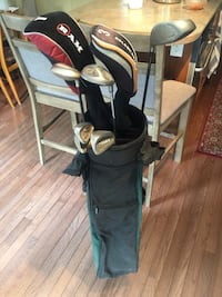 Mixed up golf club set right handed with bag used Mississauga, L5N 8H4