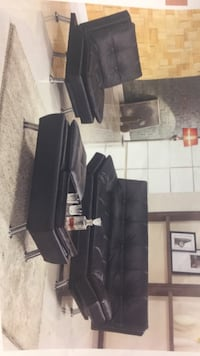 3 pc sofa bed chaise lounge & open storage ottoman North Highlands, 95660